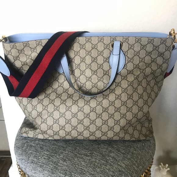 f3f0b0a8dbfa Gucci Bags | Soft Gg Supreme Diaper Bag | Poshmark